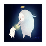 Wishing on the Stars, 2013 Giclee Print by Yoyo Zhao