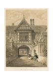 Speke Hall, Lancashire Giclee Print by Joseph Nash