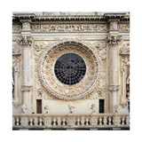 Church of Santa Croce in Lecce, 1549 - 1695 Giclee Print