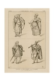 Counts of Holland and Flanders, 15th Century Giclee-trykk av Raphael Jacquemin