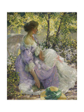 In the Garden Giclee Print by Richard Edward Miller