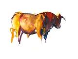 Sunset Bull, 2010 Photographic Print by Mark Adlington