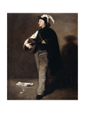 The Mandoline Player, 1862 Giclee Print by Auguste Theodule Ribot