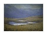 Alpine Landscape, 1890-1910 Giclee Print by Emilio Longoni