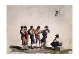 Serenata Giclee Print by Bartolomeo Pinelli