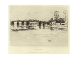 Chelsea Giclee Print by James Abbott McNeill Whistler