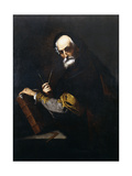 A Philosopher Giclee Print by Jusepe de Ribera
