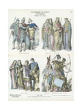 Costumes of the Ancient World Giclee Print