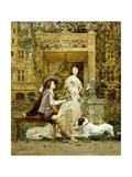 The Proposal, 1876 Giclee Print by Paul Alphonse Viry