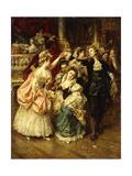 The Farandole Dance Giclee Print by Eduardo-leon Garrido