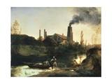 Eberswald Mill, Circa 1830 Giclee Print by Karl Blechen