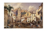Amalfi Cathedral, 1866 Giclee Print by Giacinto Gigante