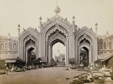 Gateway of the Hoospinbad Bazaar Photographic Print by Samuel Bourne