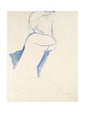 Caryatide, C.1913 Giclee Print by Amedeo Modigliani