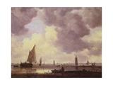 Boats, 1646 Giclée-Druck von Jan Van Goyen