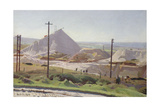 Leswidden Pit, 1920 Giclee Print by Harold Harvey