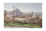 Leswidden Pit, 1920 Giclee Print by Harold Harvey