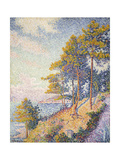 Saint Tropez, the Coastal Path, 1902 Giclee Print by Paul Signac