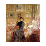 Red Couch; Le Divan Rouge, C.1905 Giclee Print by Edouard Vuillard