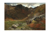 A Marshy Glen from Nature Giclee Print by Alfred William Hunt