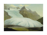 The Rhone Glacier, Above Gletsch, 1778 Giclee Print by Caspar Wolf