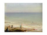 Memory of Langrune, 1865 Giclee Print by Leon Cogniet