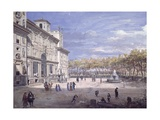 Villa Medici in Rome Giclee Print by Gaspar van Wittel