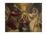 Coronation of Virgin, 1591 Giclee Print by El Greco