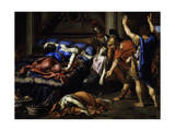 Death of Cleopatra Giclee Print by Pierre Mignard
