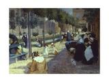 Place D'Anvers, 1880 Giclee Print by Federico Zandomeneghi