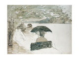 The Boat - Large Draft Giclee Print by Giuseppe De Nittis