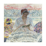 Summer Reading Giclee Print by Frederick Carl Frieseke