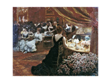 The Salon of Princess Mathilde Giclee Print by Giuseppe De Nittis