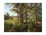 Palm, 1893 Giclee Print by Emile Isenbart