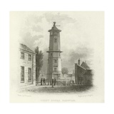 Light House, Harwich Giclee Print by William Henry Bartlett