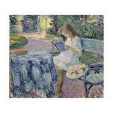 Reading Giclee Print by Henri Lebasque