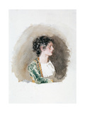 Study of Woman Giclee Print by Giuseppe De Nittis