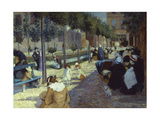 Place D'Anvers, Paris, 1880 Giclee Print by Federigo Zandomeneghi