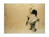Study for 'In the Box at the Opera' Giclee Print by Giuseppe De Nittis