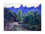 Ruins of the Castle of Crozant Giclee Print by Armand Guillaumin