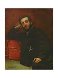 Portrait of Adrien Barthe, 1866 Giclee Print by Leon Joseph Florentin Bonnat