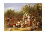 The Hop Garden Giclee Print by William Frederick Witherington