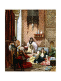 The Sultan's Favourites, 1875 Giclee Print by Georges Clairin