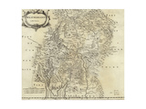 Map of Westmorland Giclee Print by Robert Morden