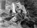 Red Cross Dog, C.1914-18 Photographic Print