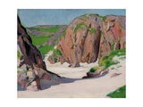 Port Bhan, Iona, C.1922 Giclee Print by Francis Campbell Boileau Cadell