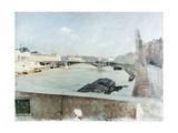 Bridge Giclee Print by Giuseppe De Nittis