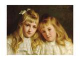 Sisters Giclee Print by Edwin Harris