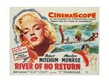 River of No Return, 1954 Giclee Print