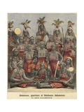 Amazons, Warriors and Witch Doctors of Dahomey Giclee Print